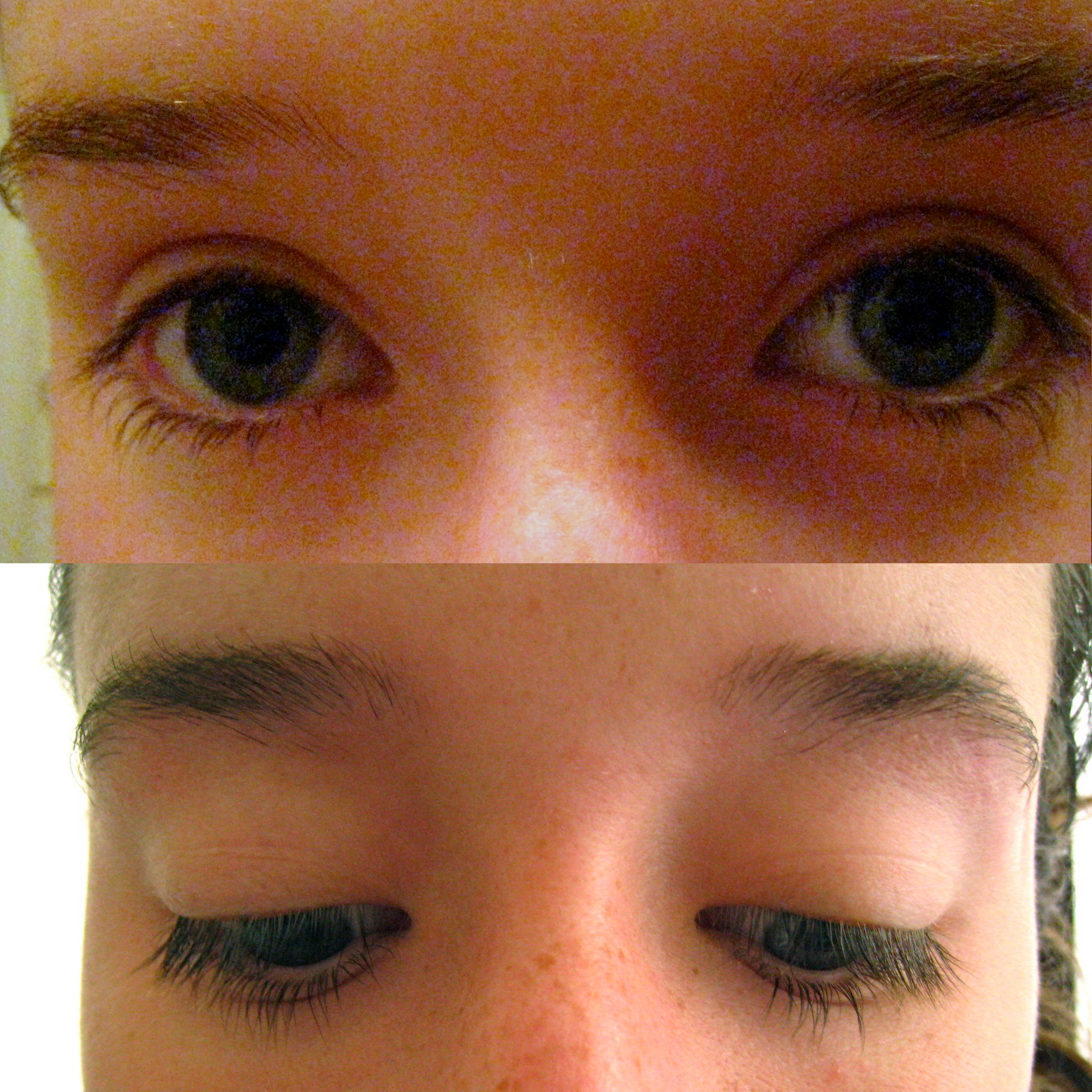 Rapid lash before and after pictures
